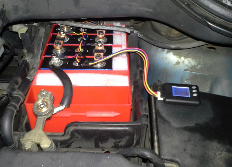 Ltw Start Battery In Ford C Max